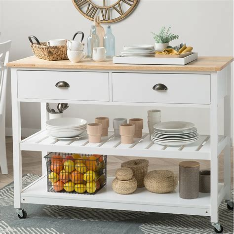 Sansom Kitchen Cart