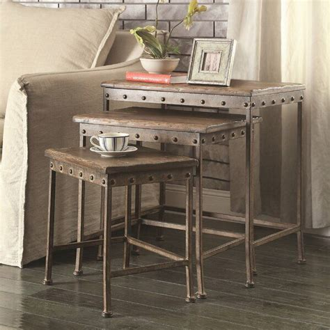 Sargent 3 Piece Nesting Tables