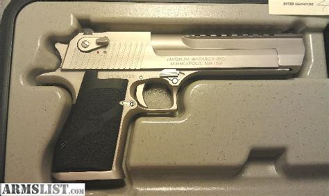 Desert-Eagle Satin Nickel Desert Eagle.