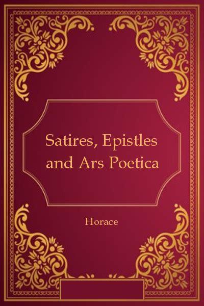 Read Books Satires, Epistles and Ars Poetica Online