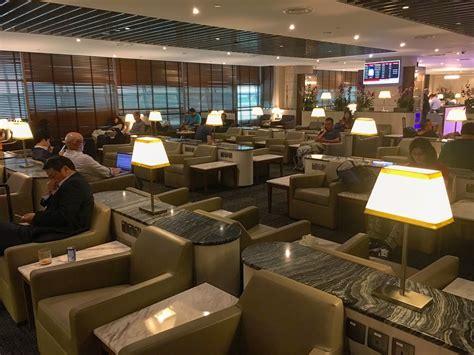 Citibank Credit Card Airport Lounge Access Malaysia Sats Premier Lounge At Terminal 2 Changi Airport Singapore