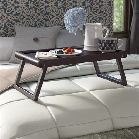 Saulter Bed Tray with Wainscoting Top