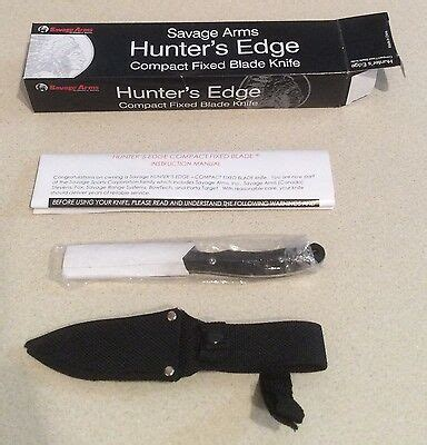 Savage Arms Knife  Ebay.
