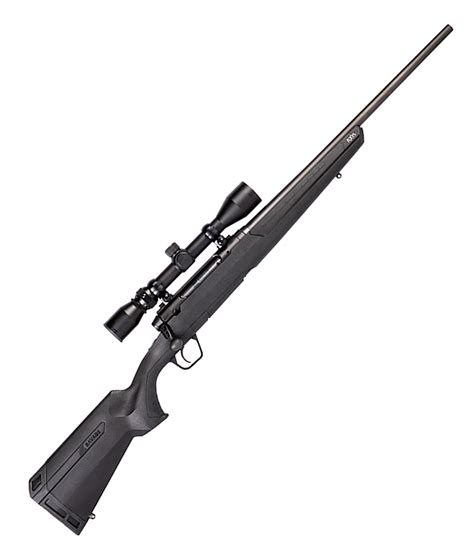 Rifle-Scopes Savage 223 Bolt Action Rifle With Scope.