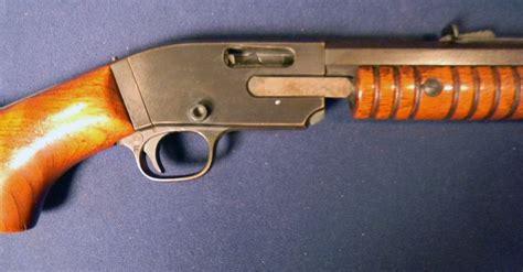 Savage-Arms Savage Arms Modle 25 Slide Action Rifle.