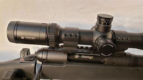 Vortex-Scopes Savage Model 10 With 3x15x44 Vortex Scope.