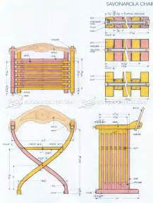 Savonarola Chair Plans