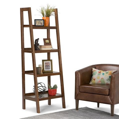 Sawhorse Ladder Bookcase