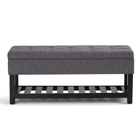 Saxon Upholstered Storage Bench