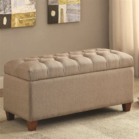Saylors Upholstered Storage Bench