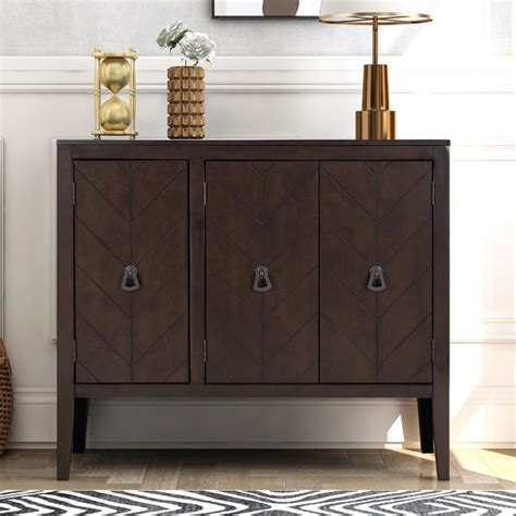Sceinnker Solid Pine Accent Cabinet