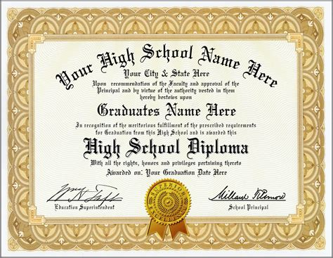 School certificate templates free download service level school certificate templates free download 10 high school diploma templates free printables yadclub Images