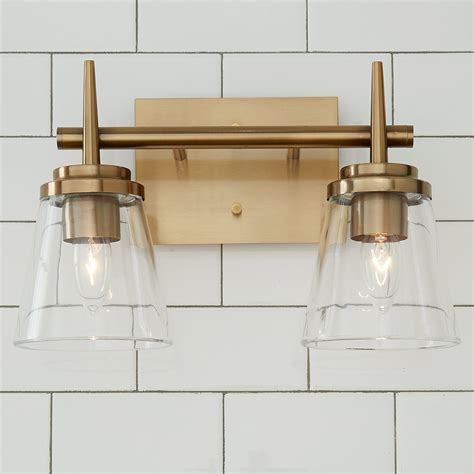 Schuck 2-Light Vanity Light