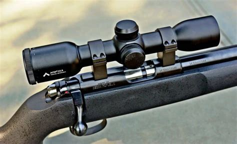 Rifle-Scopes Scope For A Savage 22 Rifle.