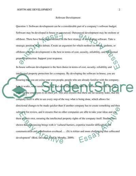 Sdlc Case Study Example Essay Computer System Validation Master Plan  Information SlideShare