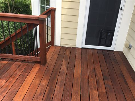 Sealing Pressure Treated Wood Deck