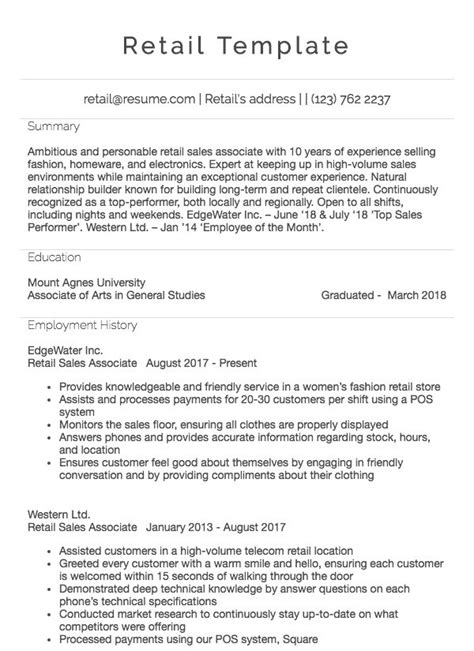 sample resume for cashier with no experience sample cv design