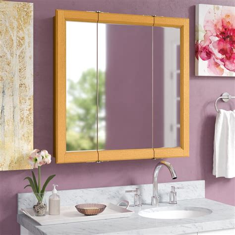 "Searle 30"" x 30"" Surface Mount Framed Medicine Cabinet"