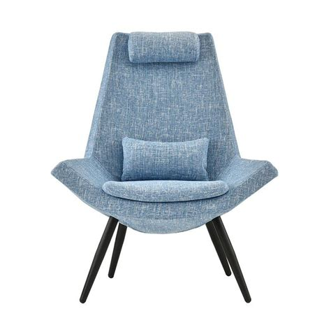 Sease Modern Linen Living Room Lounge Chair