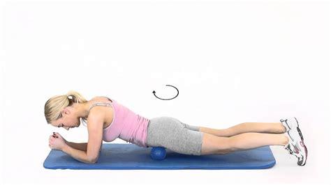 seated hip flexor massage for gymnasts wrist