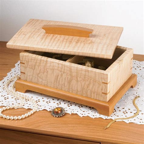 Secret Compartment Box Woodworking Plans