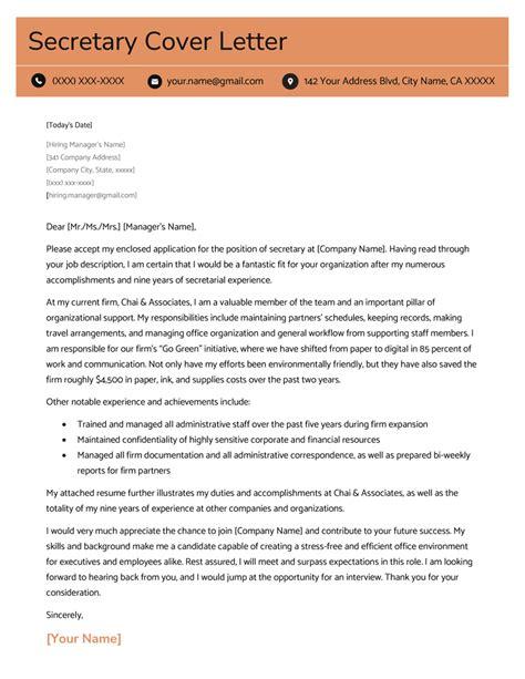 Cover letter for secretarial position madohkotupakka cover letter for secretarial position thecheapjerseys Images