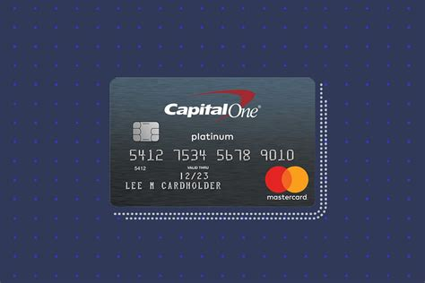 Secured Credit Card With Capital One Capital Oner Platinum Credit Card