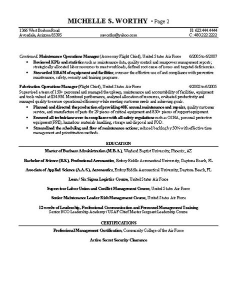 security clearance resume example resume outline college