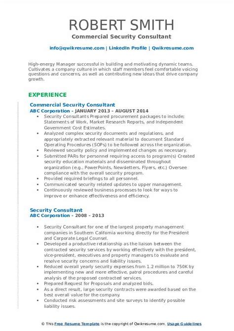 security consultant resume objective resume objective customer service resume objective