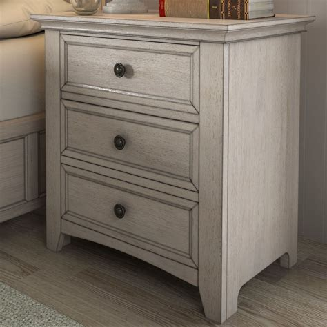 Sefton 3 Drawer Nightstand