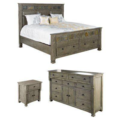 Sefton Queen Sleigh Configurable Bedroom Set byThree Posts