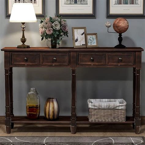 Seger Console Table with Drawer
