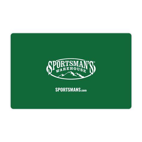 Sportsmans-Warehouse Sell Sportsmans Warehouse Gift Card.