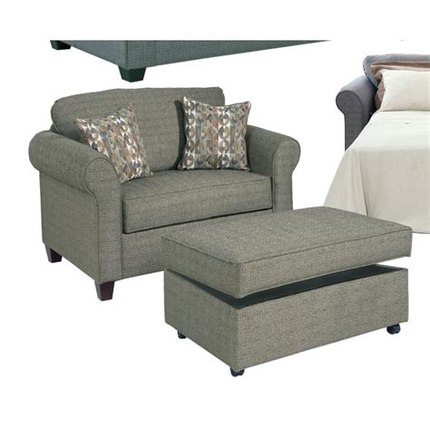Serta Upholstery Blackmon Convertible Chair and a Half