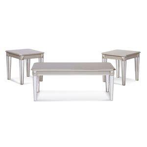 Serta Upholstery Schary 3 Piece Coffee Table Set