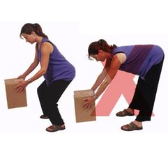 severe knee pain when lifting leg during pregnancy