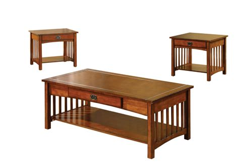 Seville 3 Piece Coffee Table Set