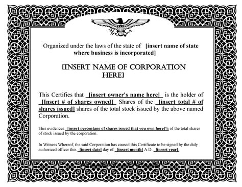 Share certificate sample doc gallery certificate design and template share certificate template download free images certificate share certificate template doc south africa choice image share yadclub Image collections