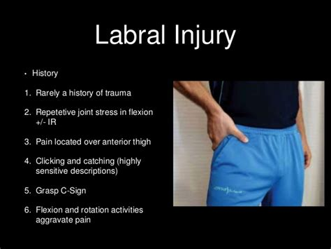 sharp hip flexor pain after hip labral repair precautions after cataract