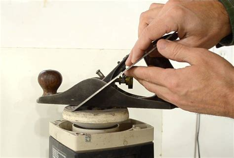 Sharpening A Hand Plane