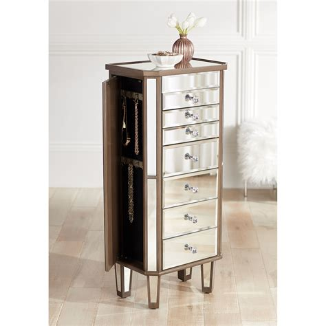 Shawnee 5 Drawer Jewelry Armoire with Mirror