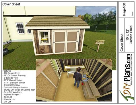 Shed Plans 10 X 12