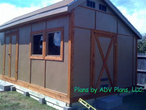 Shed Plans 12x20 Free