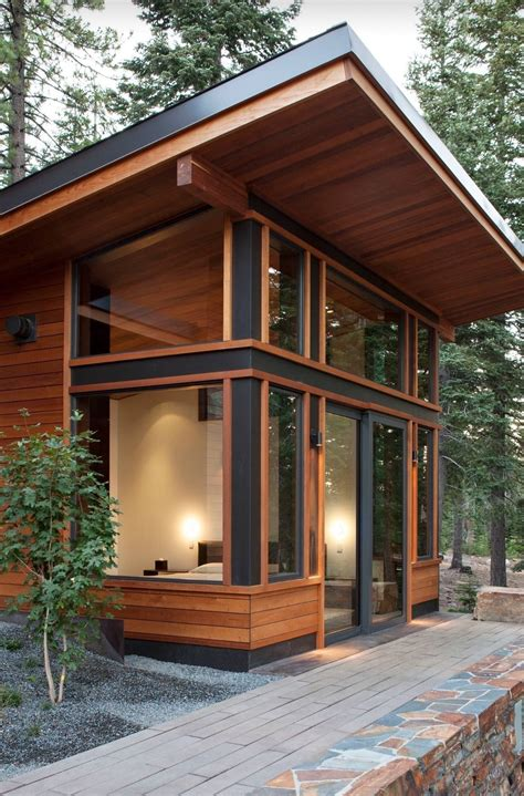 Shed Roof Cabin With Loft