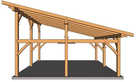 Shed Roof Carport Plans