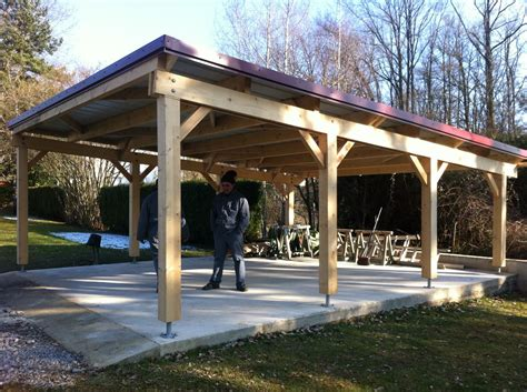 Shed With Carport Plans