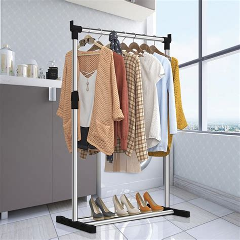 shelf coat rack clothes hanger mygift