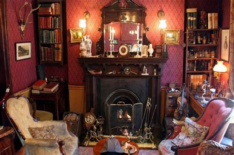 Sherlock Wohnzimmer