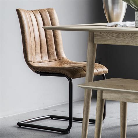 Sherwood Leather Upholstered Dining Chair (Set of 2)