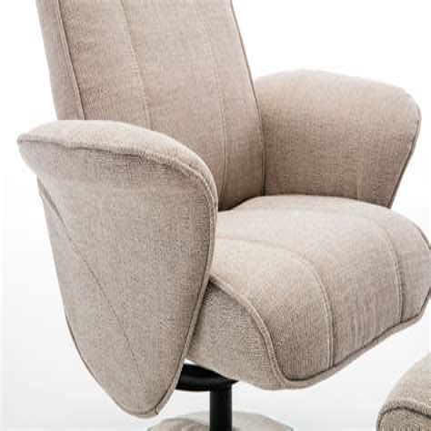 Shevlin Modern Fabric Swivel Armchair